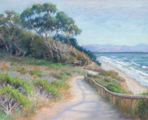 Manresa beach painting by Ann Thiermann