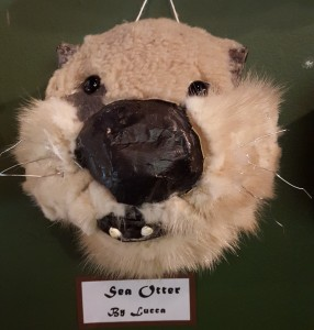 Sea otter artwork