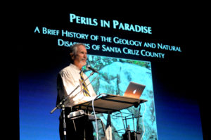 Doctor Griggs lectures on the geology of Santa Cruz