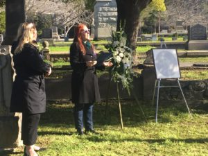 Cynthia Chase honors our founder