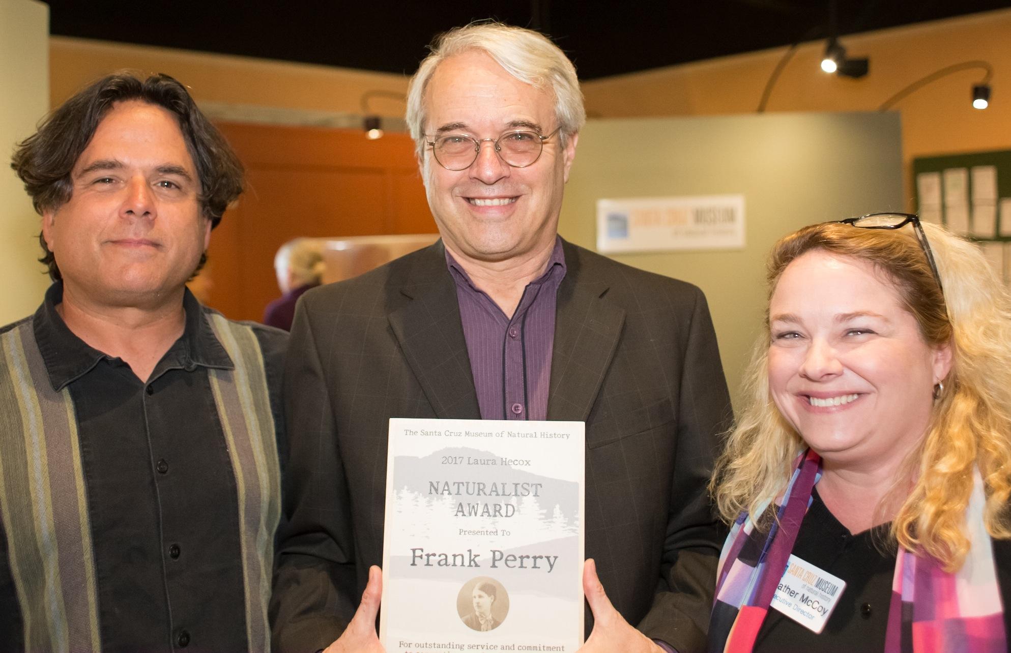 Frank Perry, Laura Hecox Naturalist Award Winner