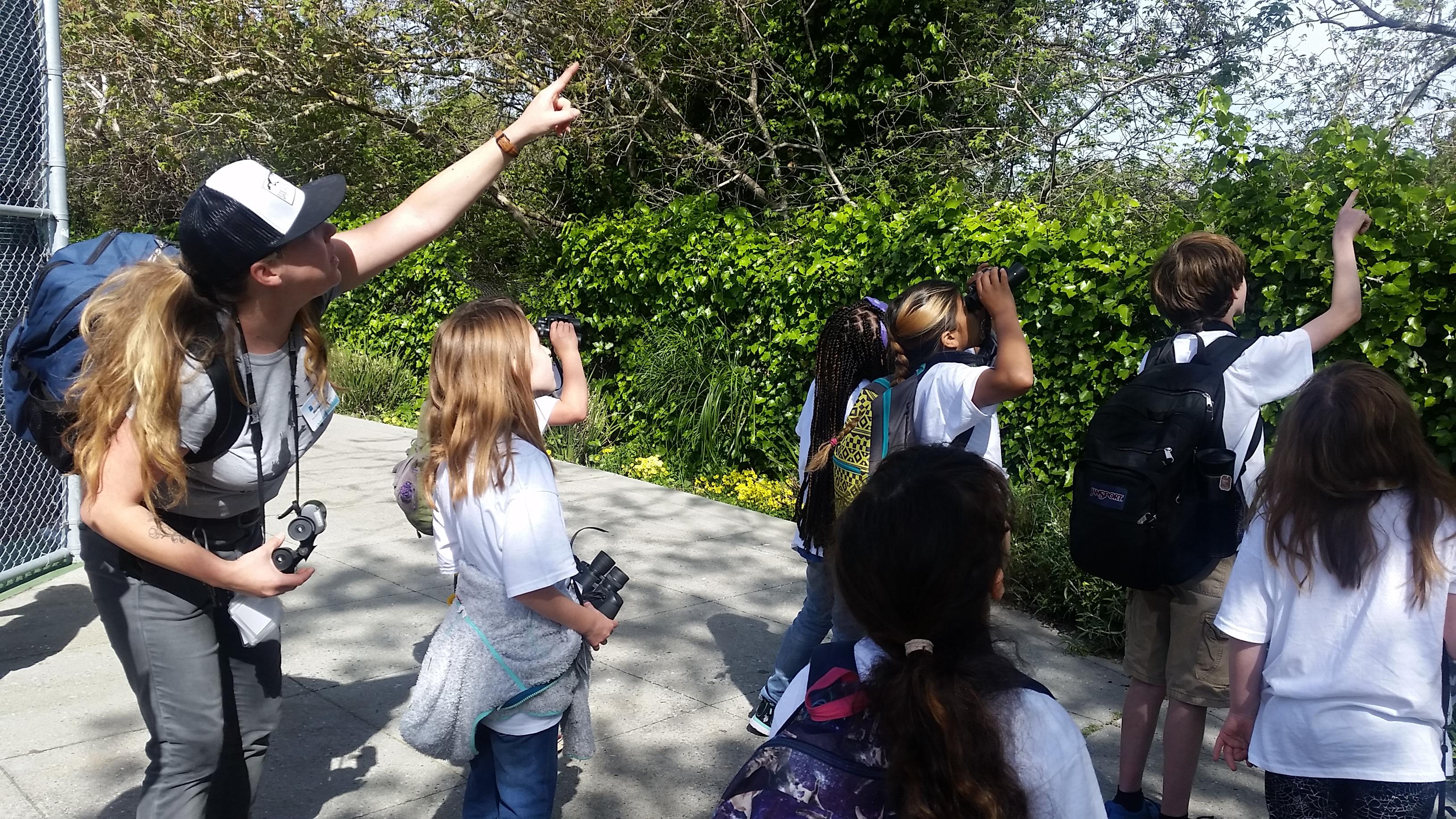 Marisa Gomez teaching camp attendees