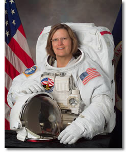 Dr. Sullivan, first American woman to walk in space