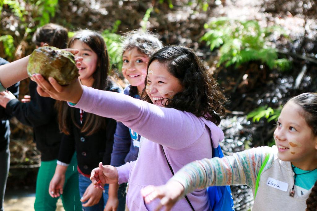 Students on a field trip in Pogonip