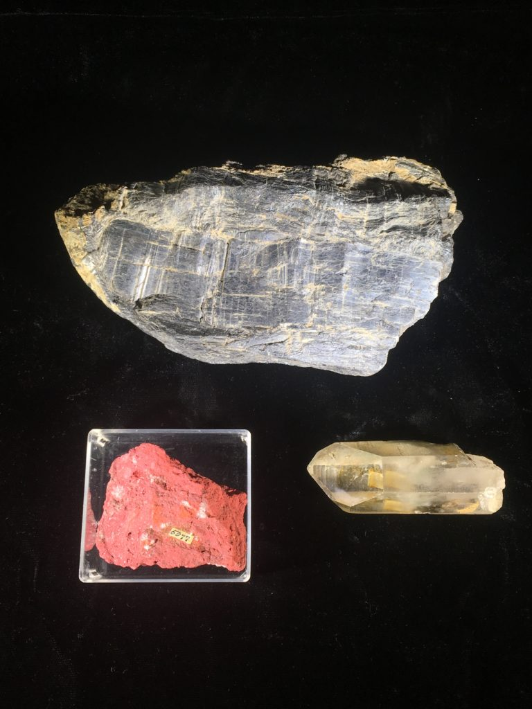 Laura Hecox's mineral samples