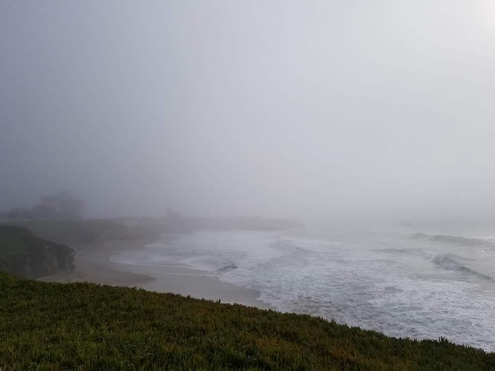 fog in santa cruz