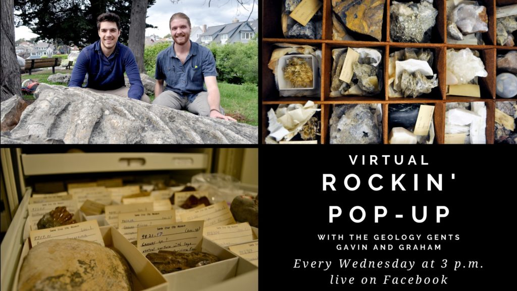Rockin' Pop-Up: Live on Facebook Every Wednesday at 3 p.m.